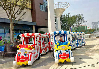 Sightseeing Trackless Kiddie Train Electric Mall Train Environment Friendly